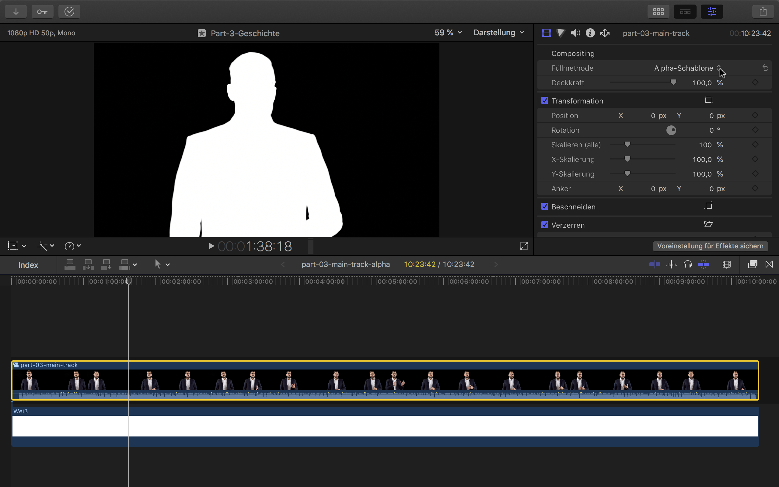 Creating an Alpha Channel Video with Final Cut Pro X – Johannes Neubauer
